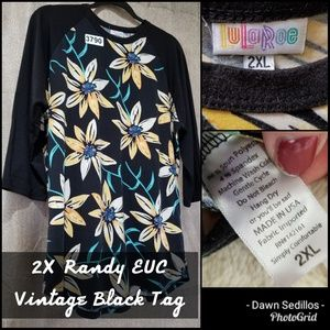 #3790 Lularoe Randy 2X - Vintage Hard to find